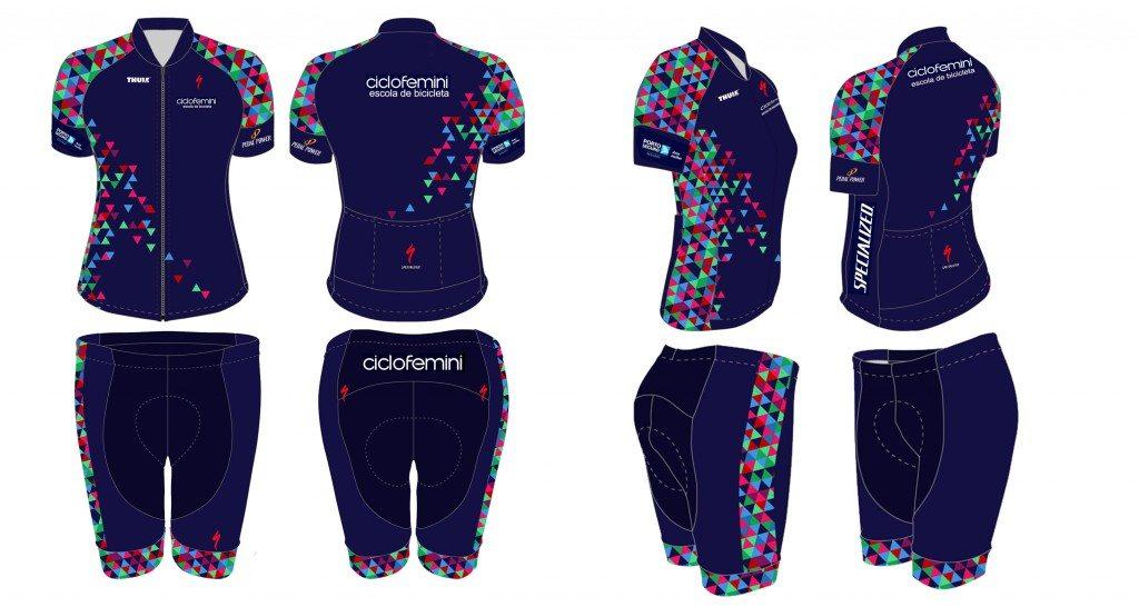 novo uniforme kit